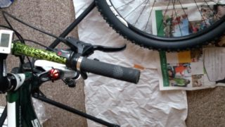 自転車の油圧式ディスクブレーキをメンテナンス