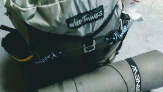 【ULギア】wild things(ワイルドシングス) の軽量ザックflap pack!
