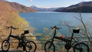 【福島県サイクリング】桧原湖一周!輪行ポタリング