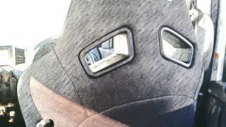 【RECARO】フラットタイプのスポーツシート、スズキパレットにSR-7Fレカロシート装着!