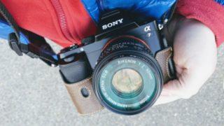 【カメラ/ソニーα7】マウントアダプター選び、KマウントのオールドレンズをSonyのEマウントに装着!